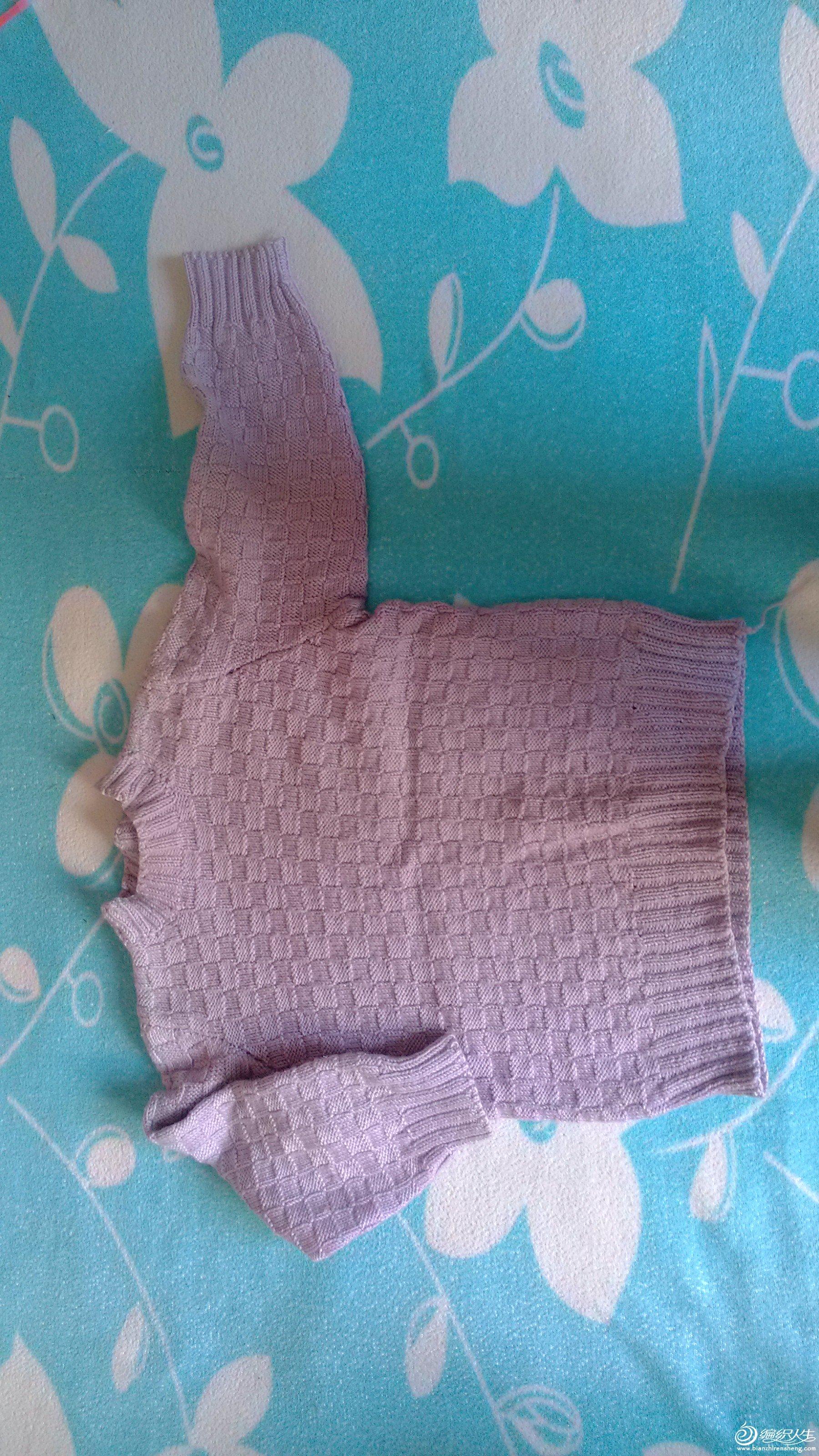 网上买的宝宝棉,容易变形,手工也不好,呵呵
