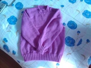 给女儿的毛衣,先来一张全身的