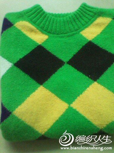 新手仿的儿童毛衣