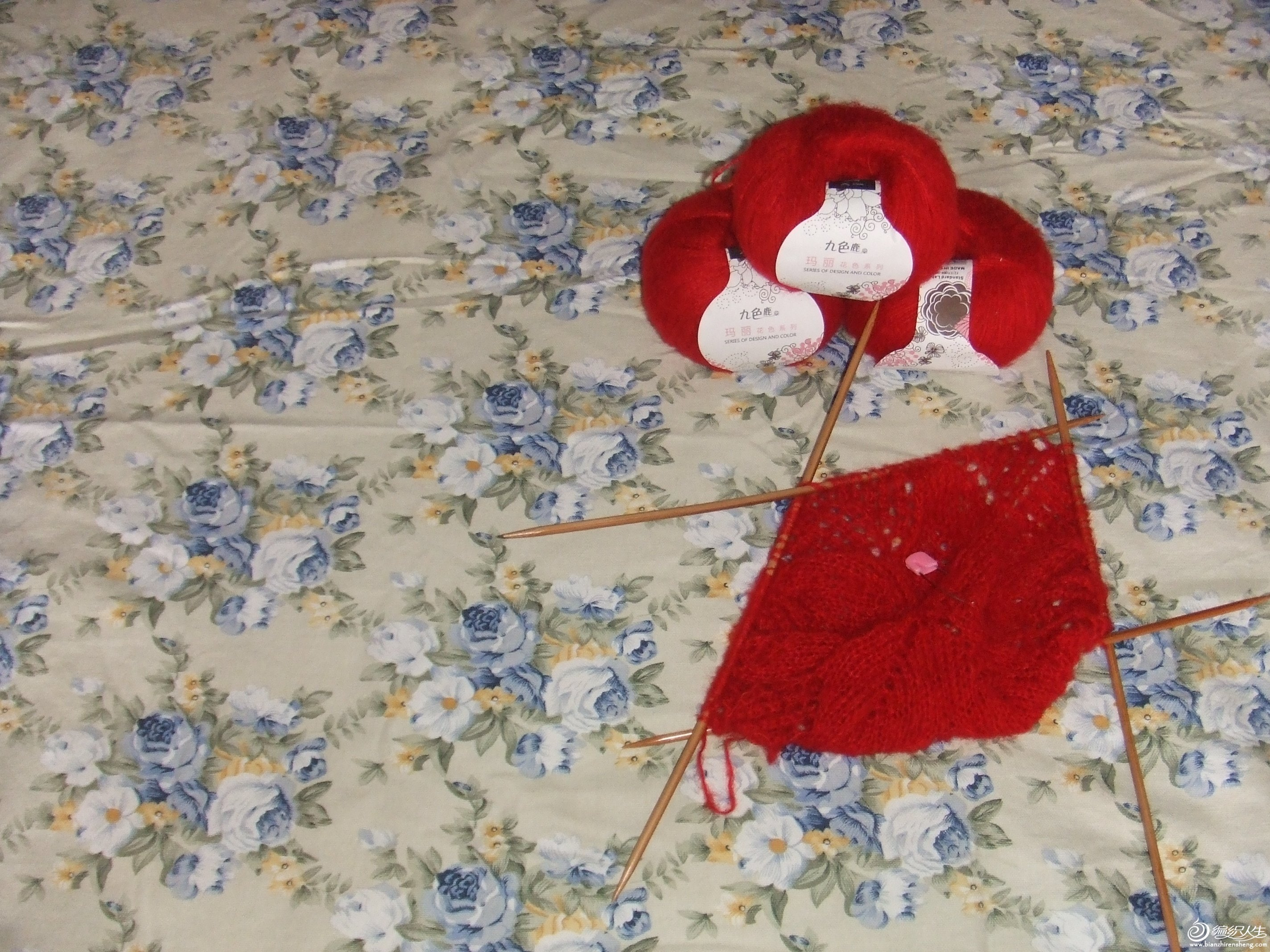 我仿织的披肩(蕾丝物语------梦の星披肩) 001.jpg