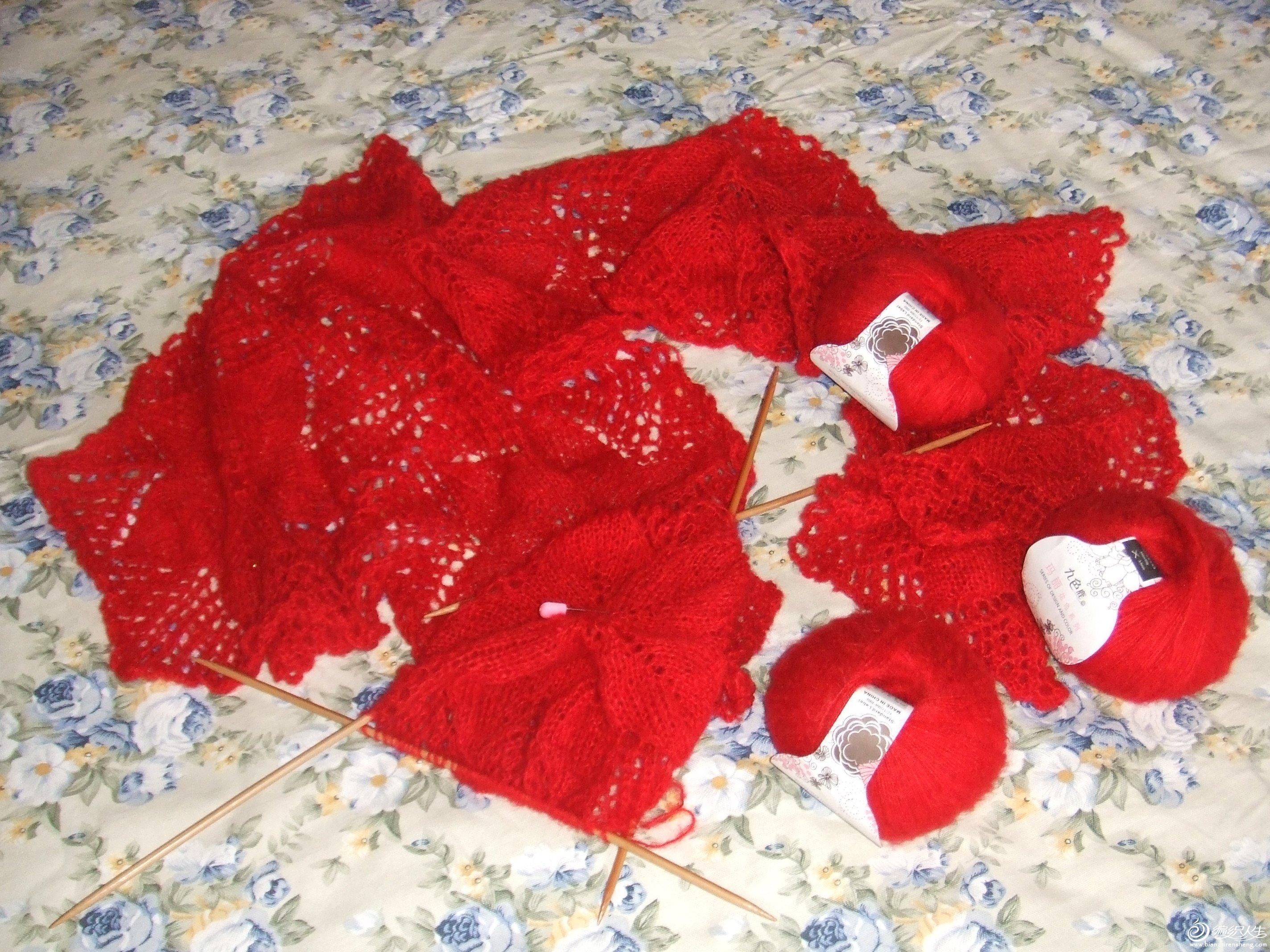 我仿织的披肩(蕾丝物语------梦の星披肩) 004.jpg