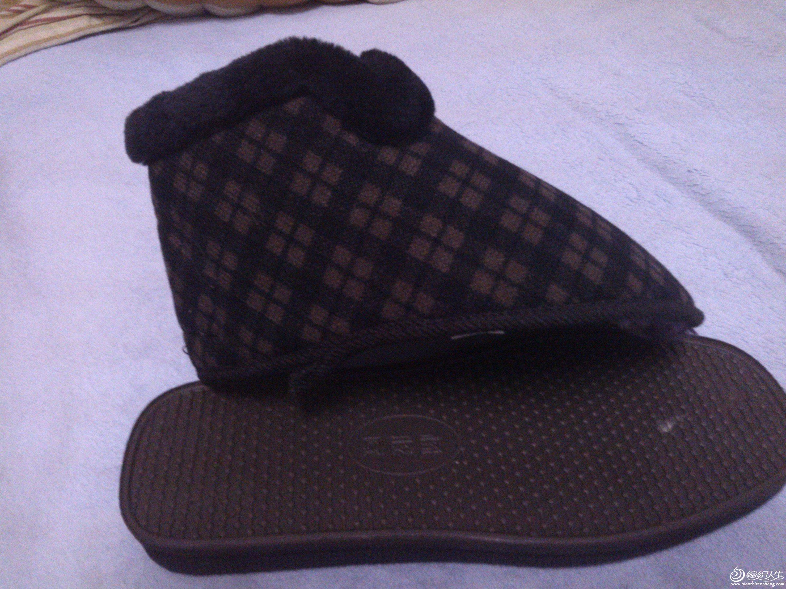 这鞋底没有底布
