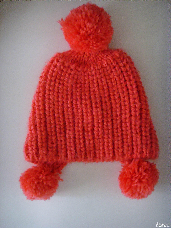 论坛 69 棒针编织作品区 69 披肩围巾帽子(棒针) 69 婴儿针织帽