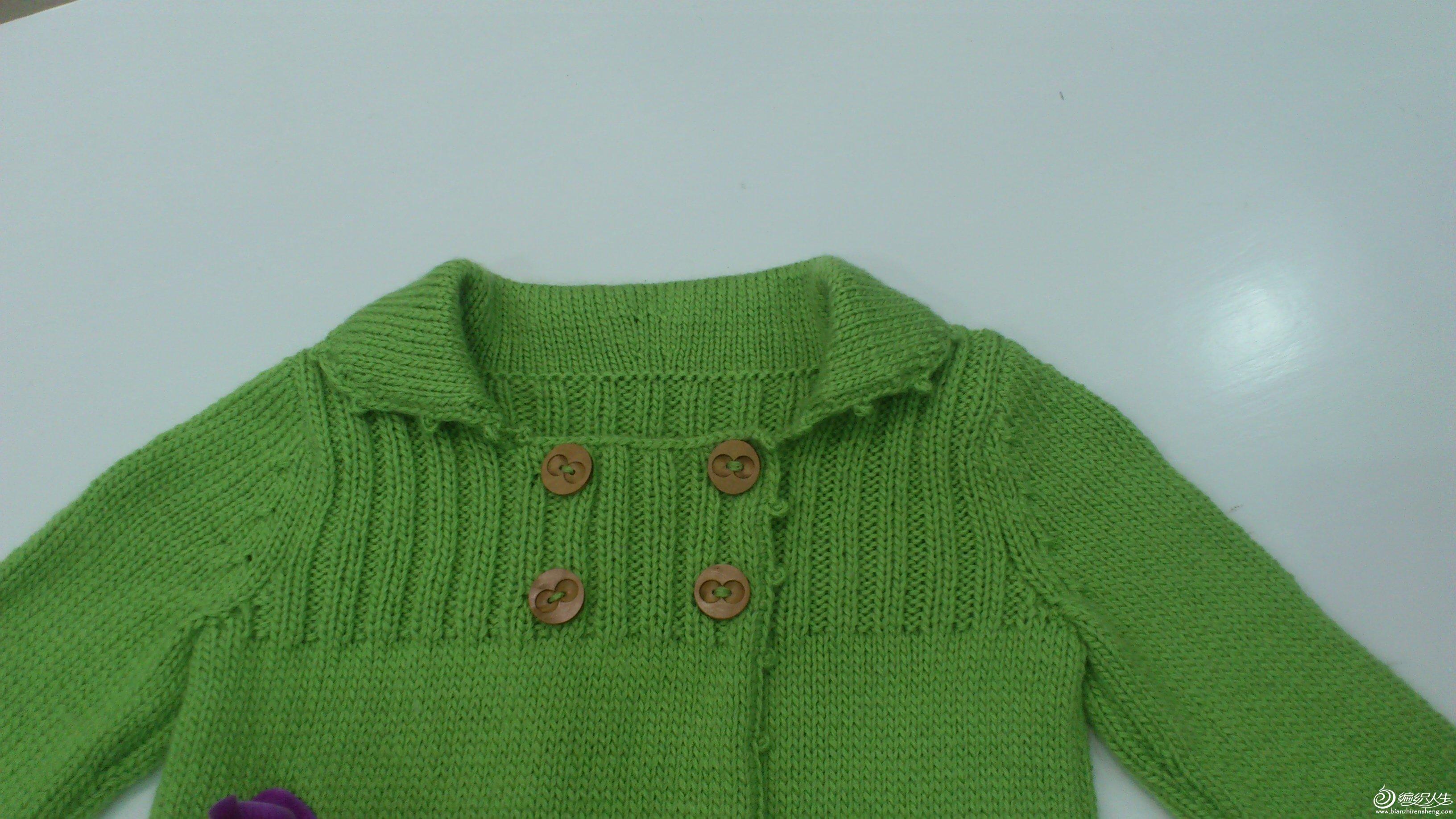 适合新手织的小可爱儿童毛衣