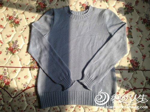 天蓝毛衣3