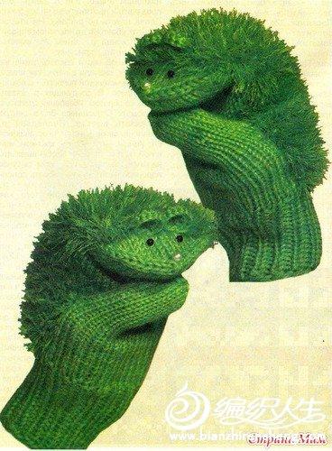 很漂亮的一幅手套