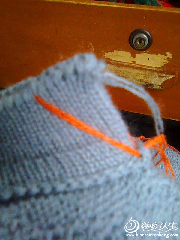 用缝衣针带一废线画一直线
