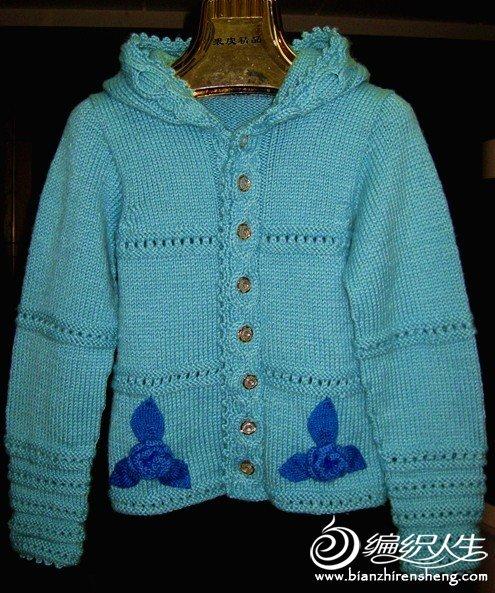 给女儿织的毛衣