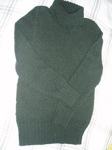 我,军绿色宽松休闲二翻领,推推领,全毛毛线衫,43.JPG