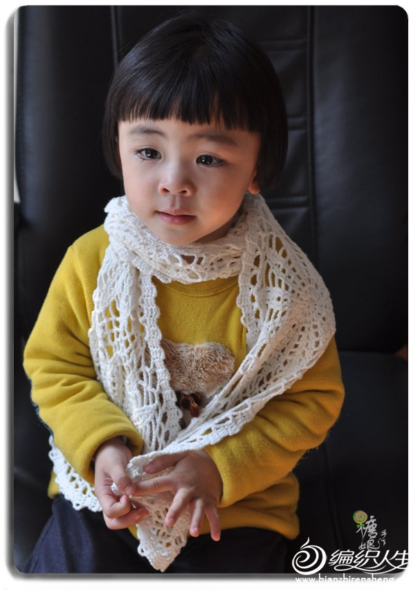 儿童钩针围巾
