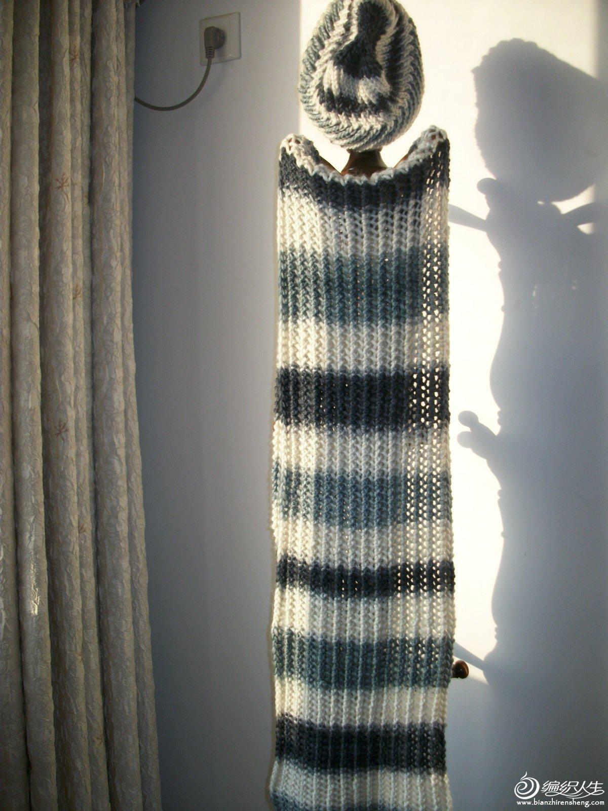 帽子+围巾