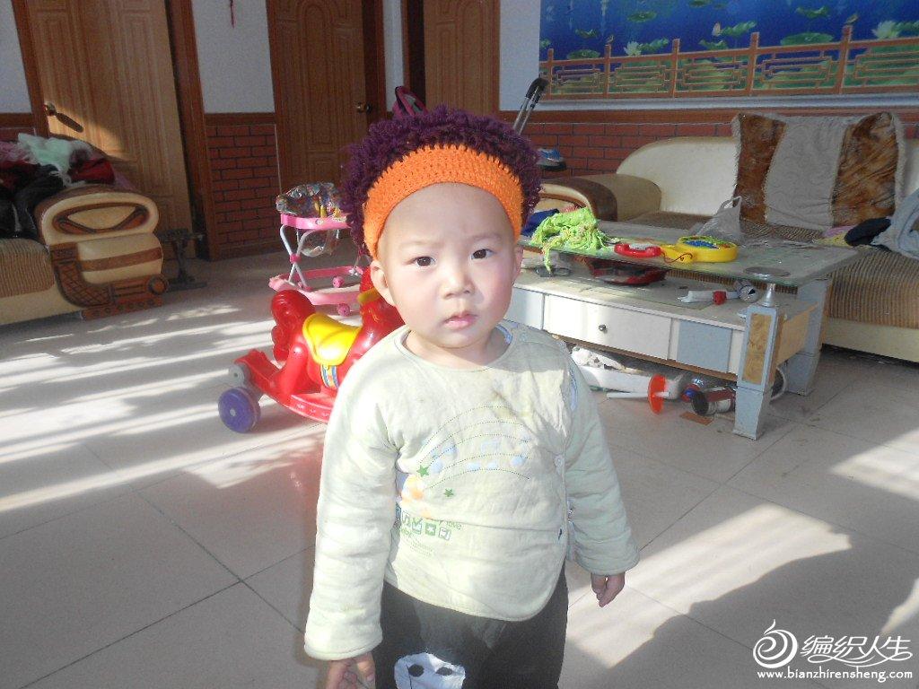 钩的假发帽子