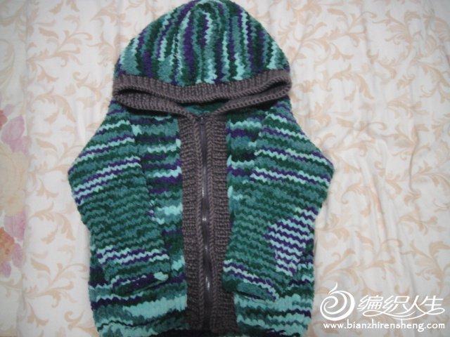 围巾线外套