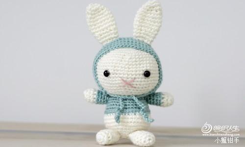 撩兔子的萌萝卜-外网超萌系列之小兔子图片