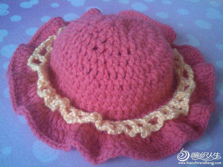 宝宝太阳帽