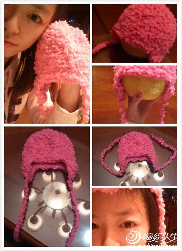 送给小妹妹的帽子