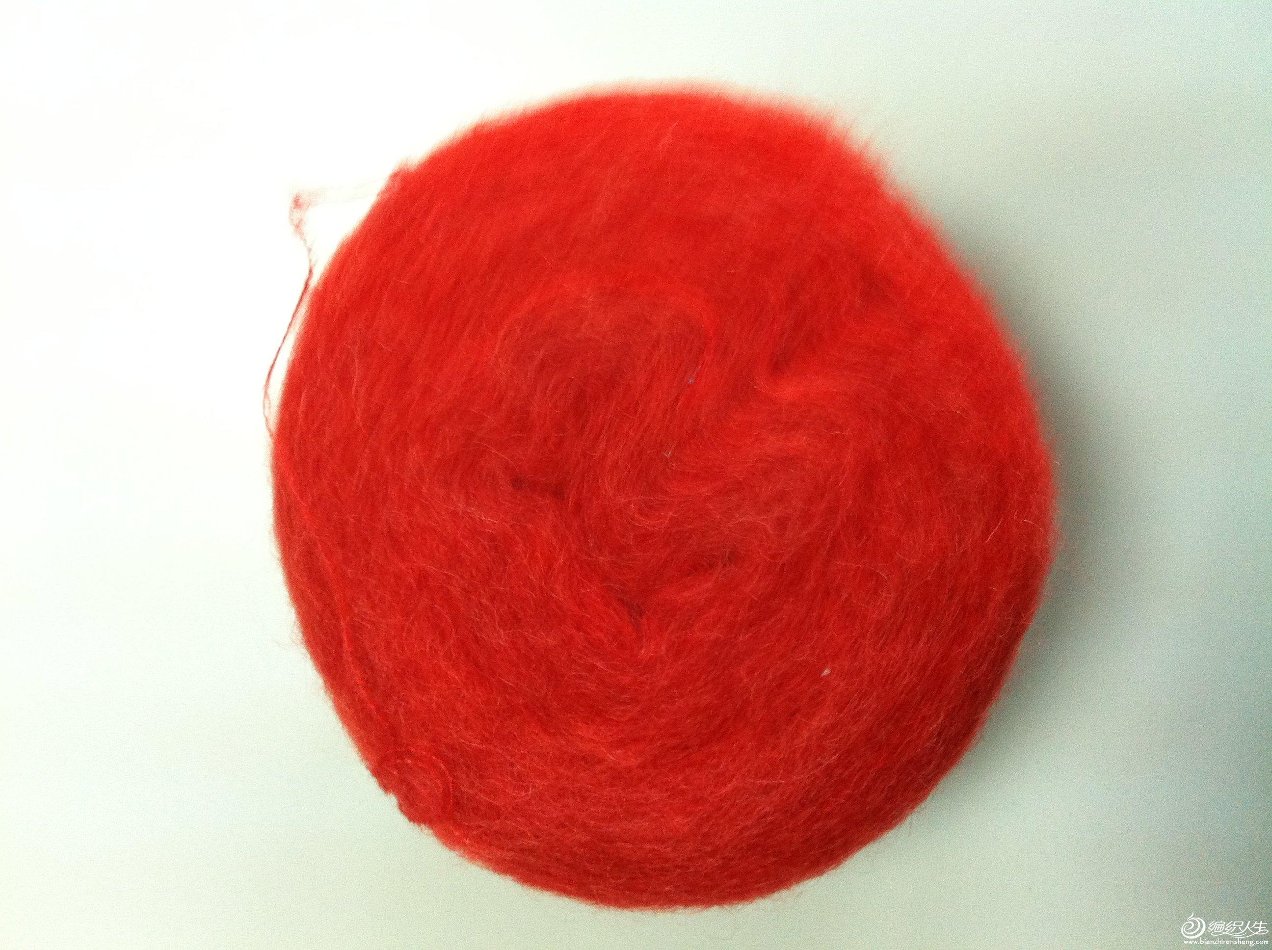 大红色,室内拍的,下午没太阳了,效果不是很好