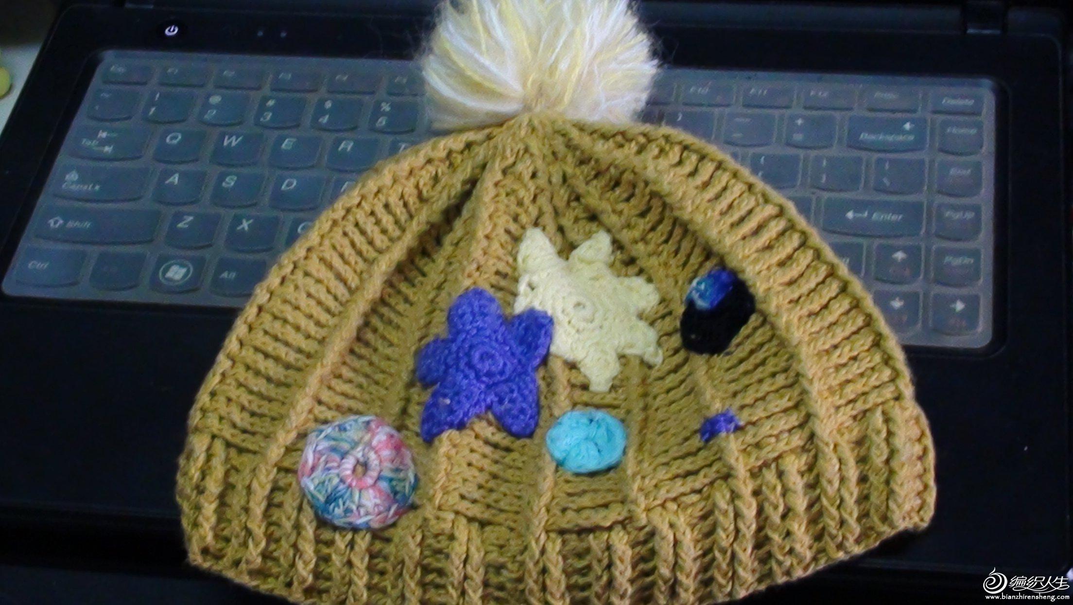 69 披肩围巾帽子(钩针) 69 零线钩的帽子--海量宝宝秀