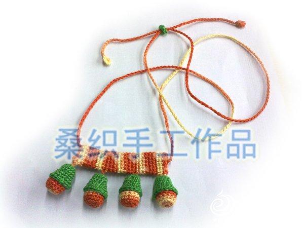 桑织的钩针项链