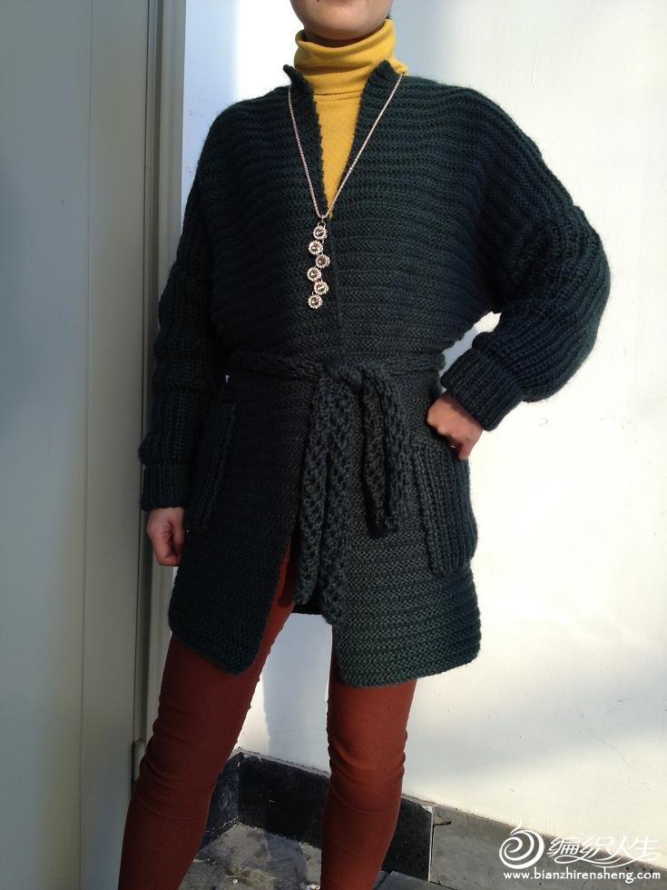 墨绿大衣6