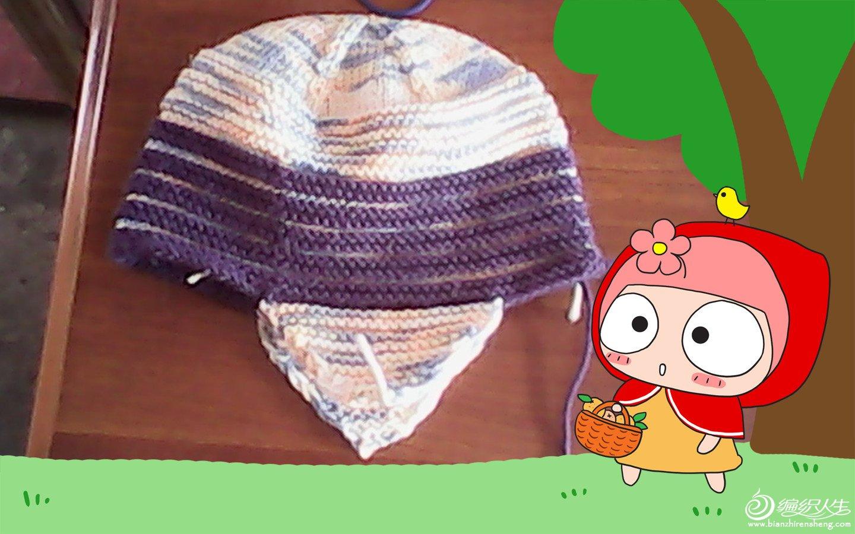 这顶帽子小球和小辫子还没弄好