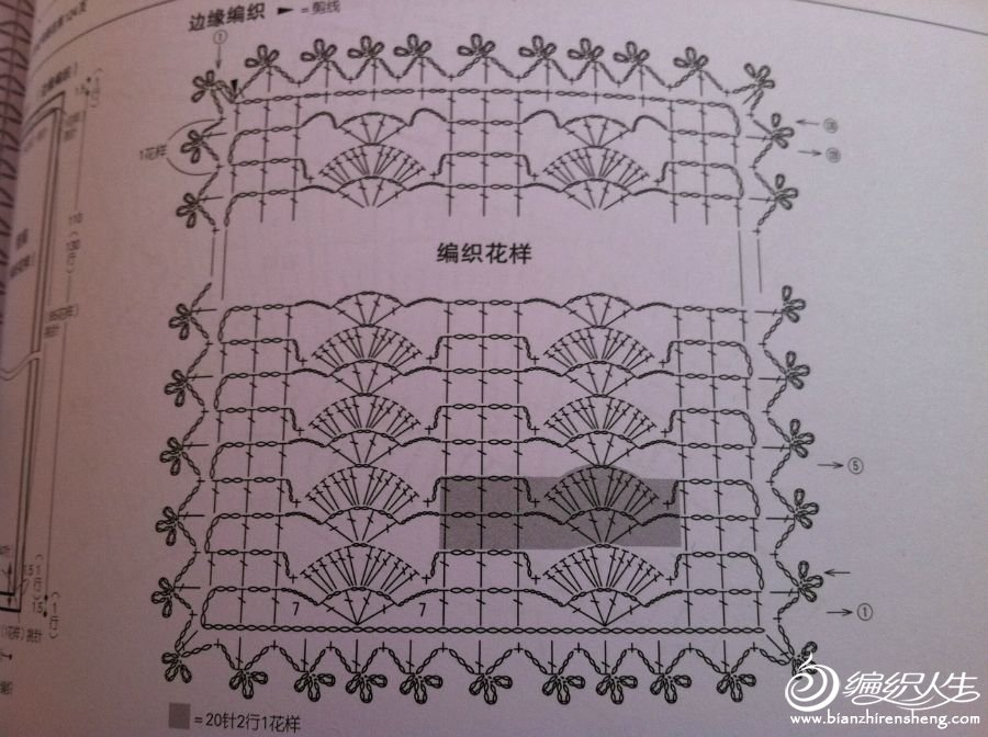 钩针围巾2