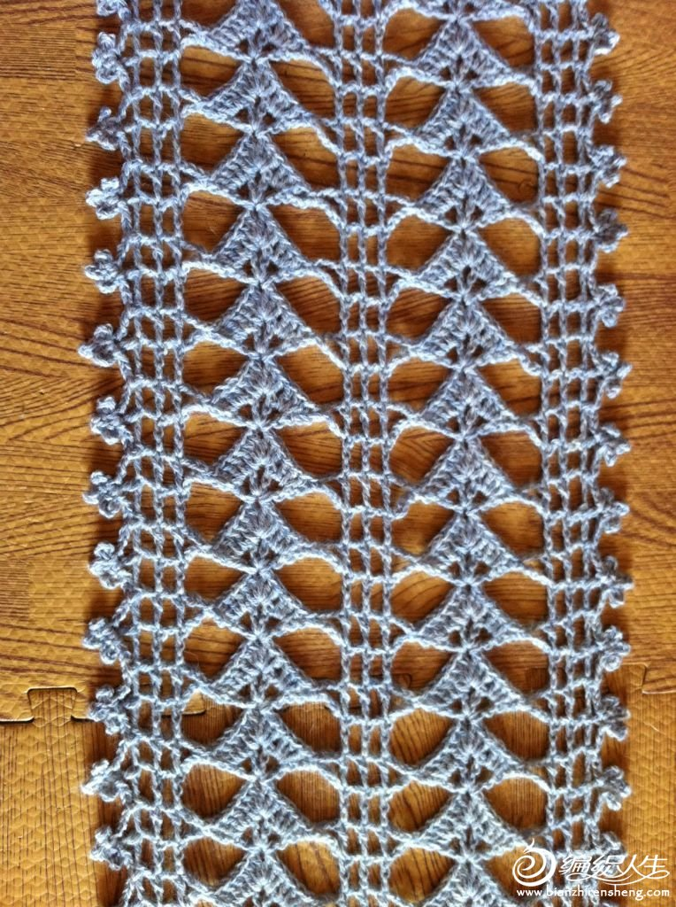 钩针围巾3