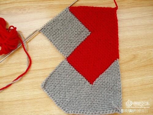 第五部:同第三步,织三角。