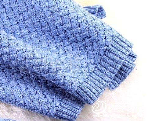 这条围巾怎么织