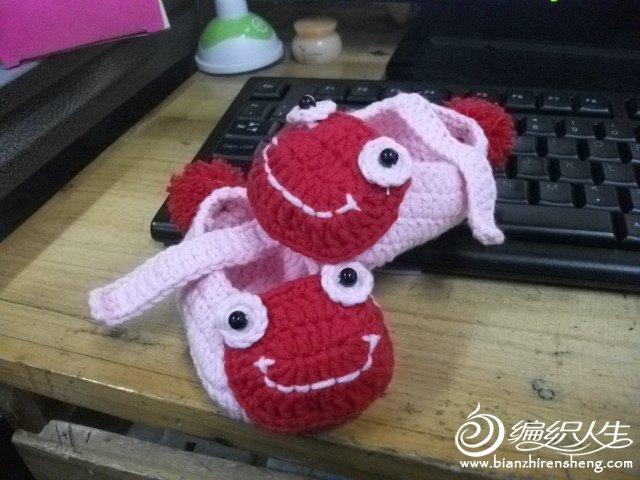 青蛙宝宝鞋子