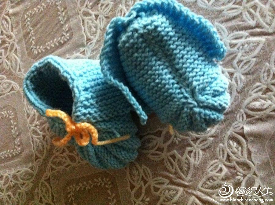 仿织的小粽子鞋