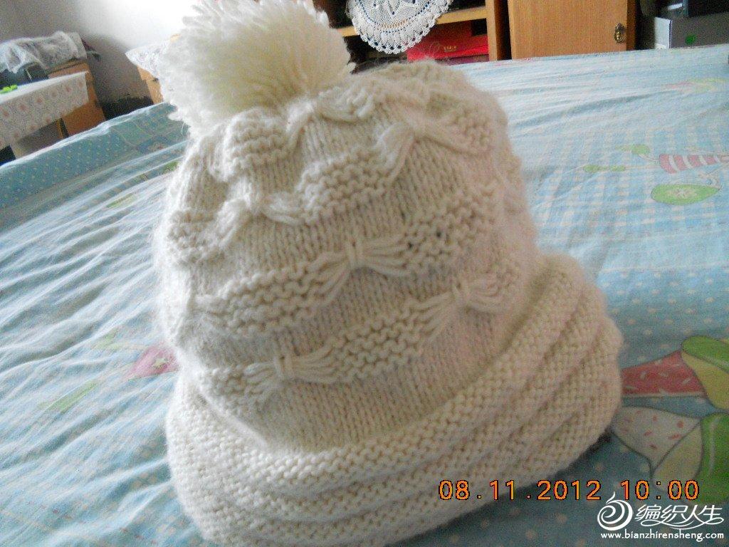 蝴蝶花帽子