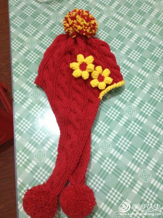 这个护耳帽是看嘉琦博文学会的,麻花辫也是第一次扭。对大家来说很简单,因为我是新手,能出来成品,所以觉 ...