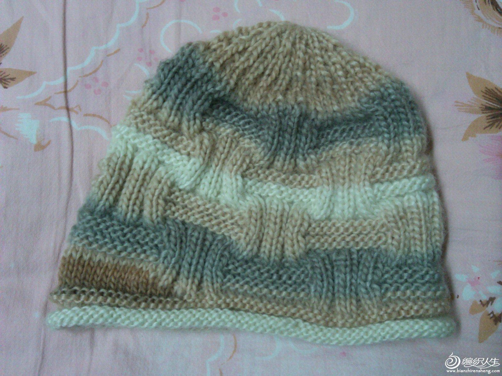 仿织的帽子