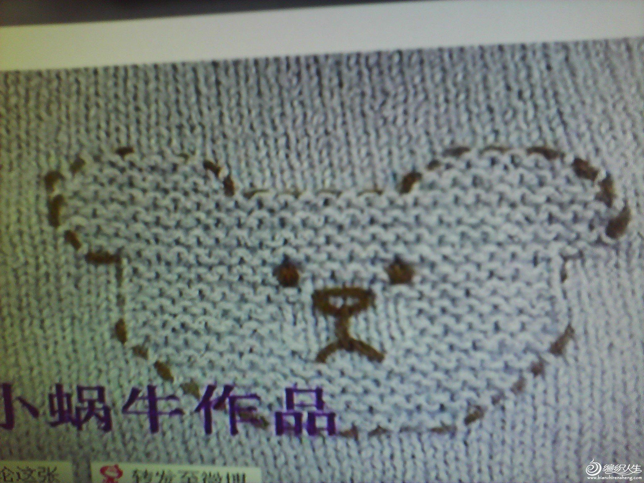 小熊的编织图