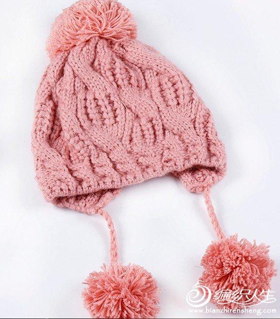 这个帽身也看不懂怎么织