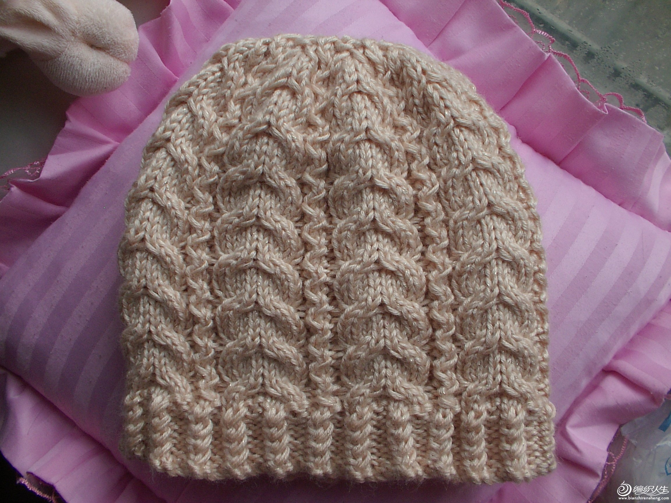 美丽绒帽子整体图2