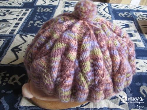 [帽子] 常阿姨的叶子花贝雷帽,我做了图解,想织的来看看吧.