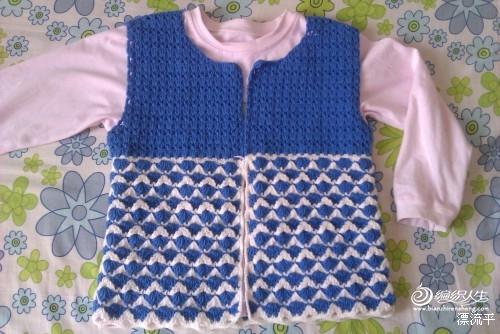 毛衣外套的编织方法