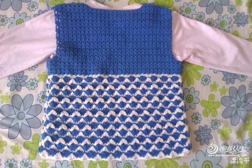 毛衣外套女编织教程