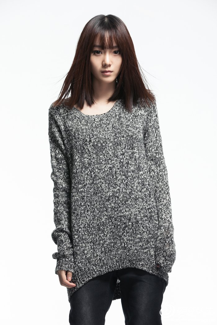 这是毛衣的正面