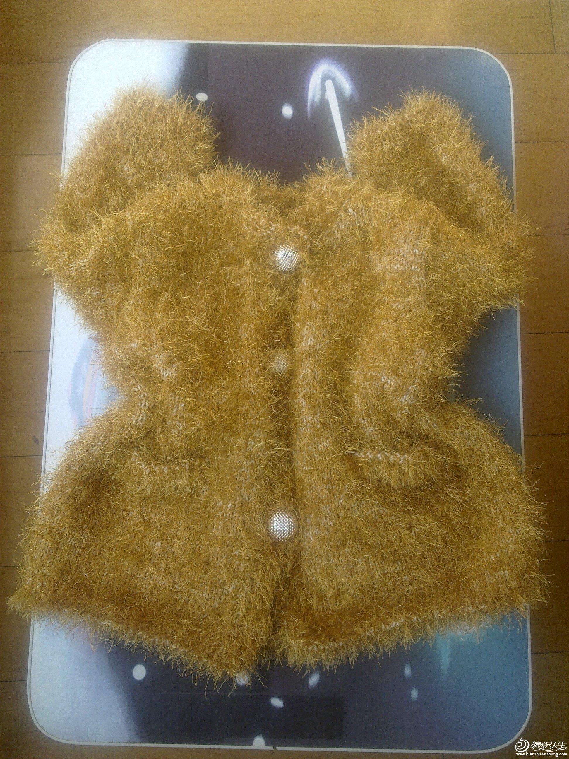 松树纱毛衣