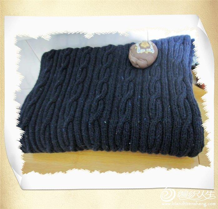 蓝色花点围巾.jpg