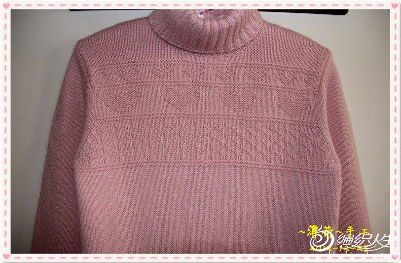 26支羊绒4股织。女孩妈妈说孩子怕冷,好吧,温暖第一啦!
