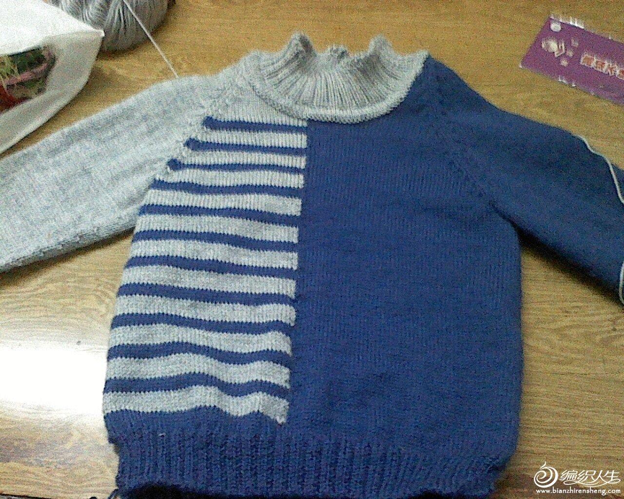 儿童毛衣 胸前手工制作图案图片