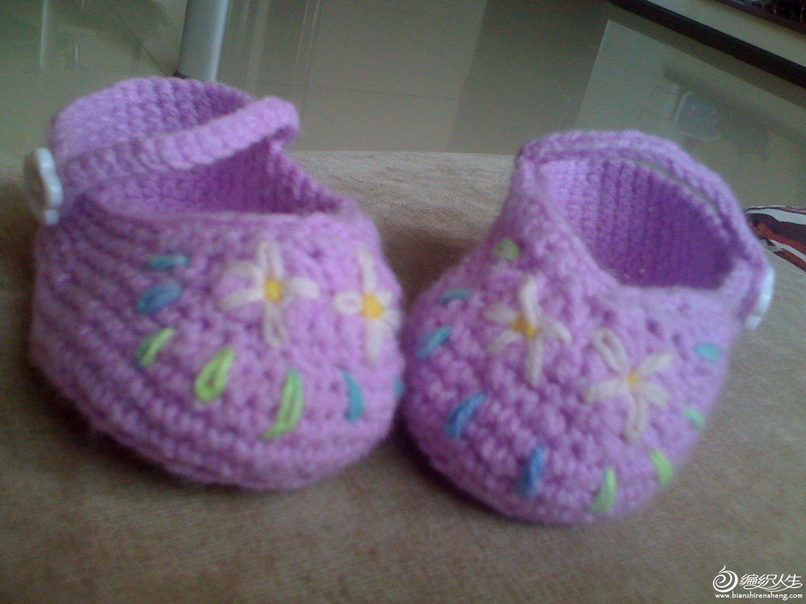 较早时的小鞋子。