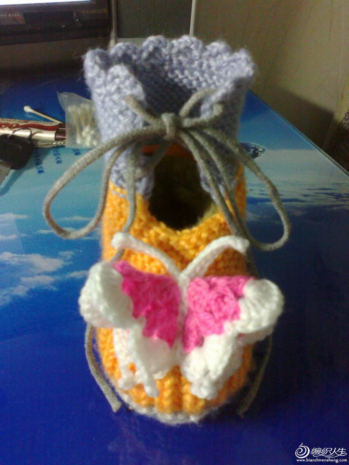 钩的小鞋子