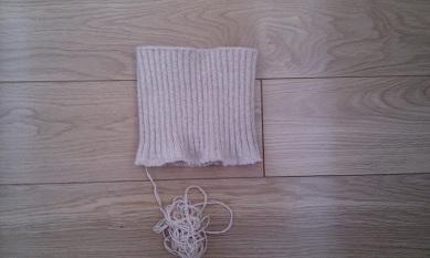 织好的领子