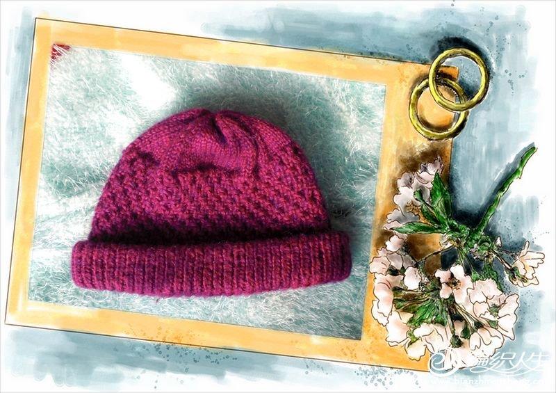 给妈妈和婆婆编织的老年帽子