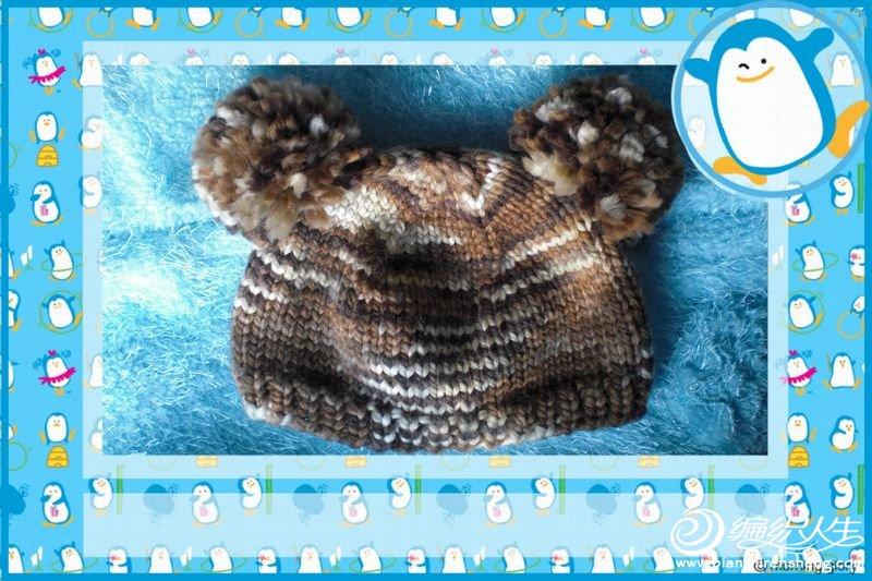 自创的超级好织的虎头帽